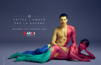 Campaign against aids | Aides Color of Love 2016 | Agency TBWA Paris